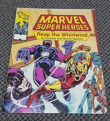 Reap the Whirlwind - Marvel Super Heroes RPG Adventure MX3 TSR 6877