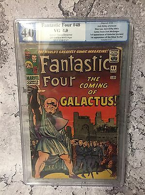 Marvel Fantastic Four # 48 First Appearance The Silver Surfer  Not Cgc Pgx 4.0