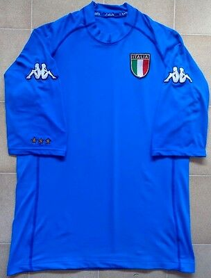 Authentic Kappa Italy 2002 Home Jersey. Mens XL, Excellent Condition.