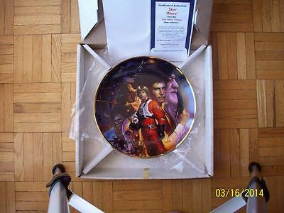 Free Shipping - Star Wars Collector Plate - 1993 Hamilton Collection