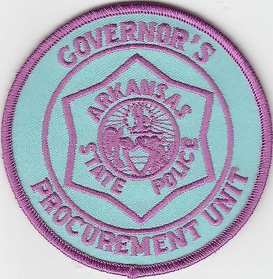 Arkansas State Police Governor's Procurement Unit Patch Ar