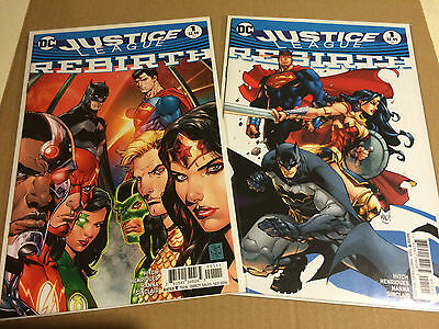 Justice League: Rebirth #1 First Printing Regular & Variant Cover **sold Out**