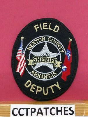 Benton County, Arkansas Sheriff Field Deputy (Police) Shoulder Patch Ar