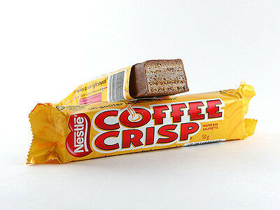 4X Fresh Coffee Crisp chocolate candy bar from Canada standard 50g Nestle