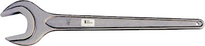 """55mm (2.3/16"""") Single Open End Wrench (Steel) T&E Tools 3302-55"""