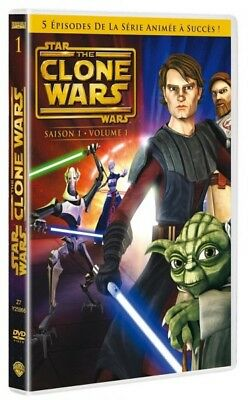Star Wars The Clone Wars Saison 1 Volume 1 DVD NEUF SOUS BLISTER