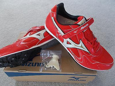 Mizuno Long Jump Spikes Track & Field Athletics Uk 10.5 Eu 45 8Km-88101 Unisex
