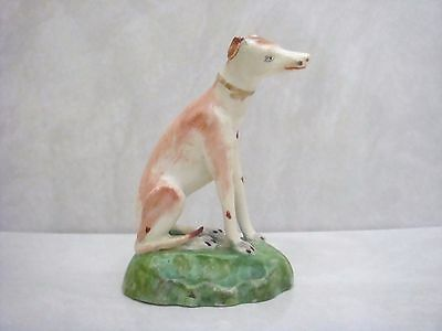 Derby Porcelain Early 19Th Century Very Handsome Figure Of A Hound C1820