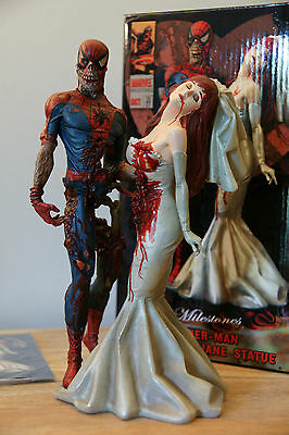 Statue Marvel Zombie Spider-Man & Mary Limited