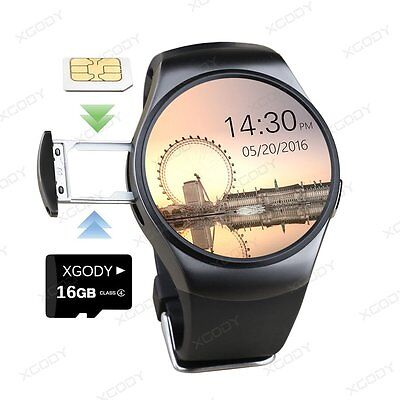 Waterproof Bluetooth Smart Watch Phone Mate SIM GSM For iPhone Android IOS UK