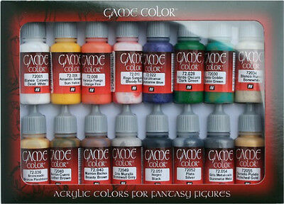 AV Vallejo 72299 Game Color / Colour Range  Introduction Set 16 x 17ml