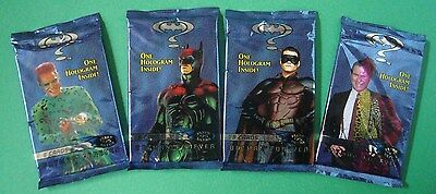 1995 Fleer ULTRA *BATMAN FOREVER* Sealed/Unopen PACK New From Box ROBIN Riddler