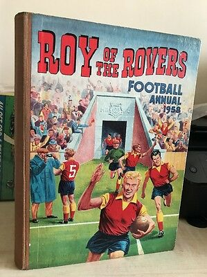 Tiger Roy Of The Rover Football Annual 1958 (1st Annual)