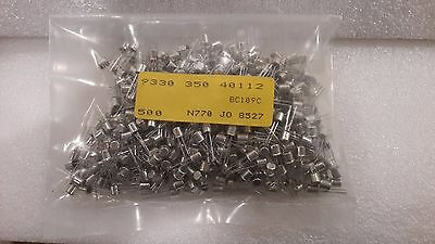 BC109C Lot of  6 pcs  New  Philips  Low-Noise Transistor NF 2-3dB Holland made