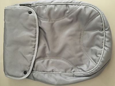 FOOT COVER FOOT MUFF Fits Steelcraft Strider Plus Compact Stroller SILVER