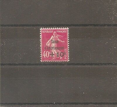 Timbre France Frankreich Ca 1930 N°266 Neuf** Mnh