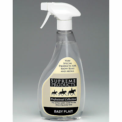 Supreme Products Easy Plait Plaiting Spray Showing Grooming Horse Pony * 500ml *