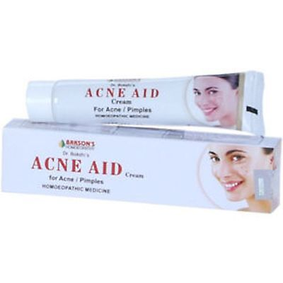 Acne & Pimples Homeopathic Ointment Bakson's Acne Aid Cream 25 gm