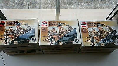 Airfix soilders  1 /32 German paratroops 1986 price is for 1 box