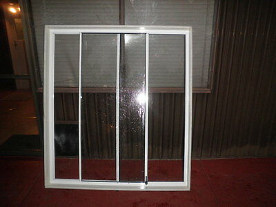 aluminium sliding window white near new condition