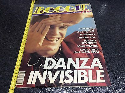 Revista Boogie Nº 2 , 3 Noviembre 1988 - Danza Invisible, Simply Red, Nacha Pop,