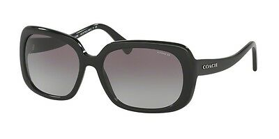 Genuine COACH 8178 - Sunglasses Replacement Lenses - Gradient Grey