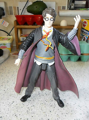 "Large Harry Potter Action Figure - 8"" High - Used/Played With"