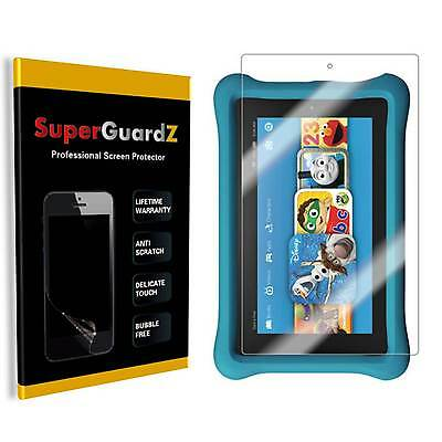 3X SuperGuard® Clear Screen Protector For Amazon Fire HD 8 Kids Edition 2017