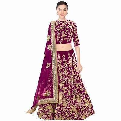 Indian designer party wear ethnic Pakistani Bollywood wedding lehenga Choli