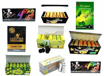 10 Different Kinds of Charcoal for Shisha Hookah Coal Water Smoking Pipe