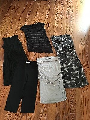 lot of a Pea in the Pod maternity clothes size small