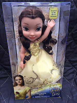 BRAND NEW Disney Beauty and the Beast Ballroom Belle Doll girl's toy play