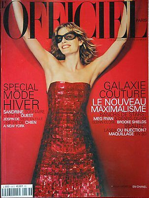 L'OFFICIEL Paris - #838 - Septembre 1999