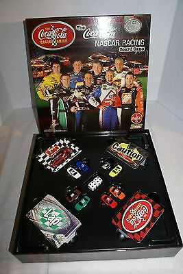 Coca Cola 2004 1St Ed Nascar Racing Board Game  Opened Never Used Exc Cond