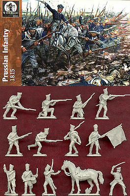 1:72 Figuren Ap020 Prussian Infantry 1815 - Waterloo