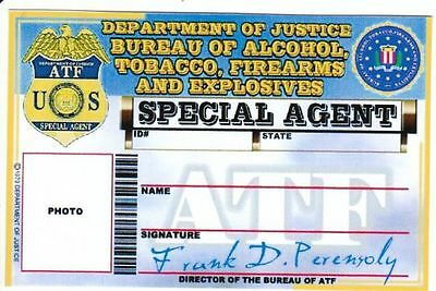 Historischer Special Agent of Justice Bureau of Alcohol, Tobacco, Firearms and E