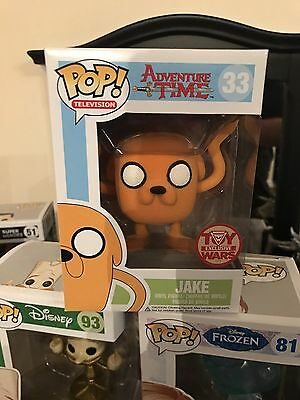 Adventure Time Flocked Jake Funko Pop Vinyl Toy Wars exclusive