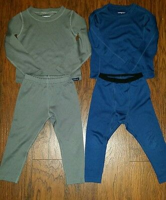 Toddlers 3T Lands End Base Layers Thermaskin