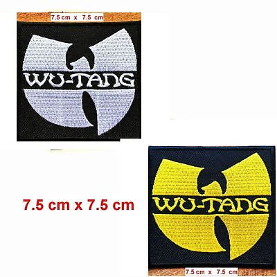 786900 Wu-Tang Clan Hardcore hip hop Band PATCH RICAMATO TOPPA EmbroideredPatch