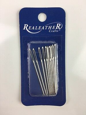 Realeather Silver Creek Leather Co. Sititching Needles 10 Pack BN018-10