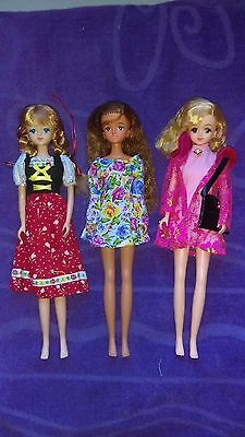 Takara Jenny Doll Lot with Two Jennys and Ellie