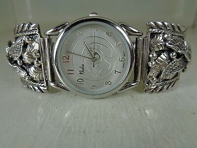 Eagle Watch Tips .925 Sterling With Watch No Stone By Ronnie Hurley