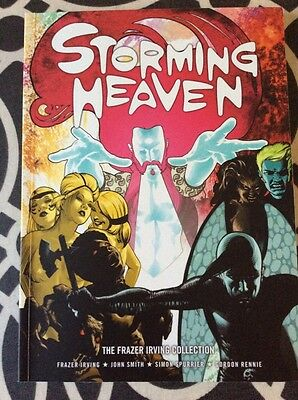 Storming Heaven, Frazer Irving Collection. 2000AD. Inc Shaun Of The Dead Tie-in.