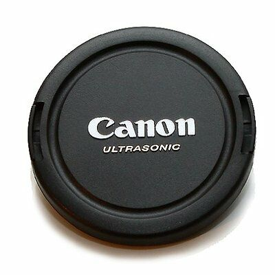 Canon 72mm Lens Cap Front Snap On Ultrasonic Center Pinch Lens Cap