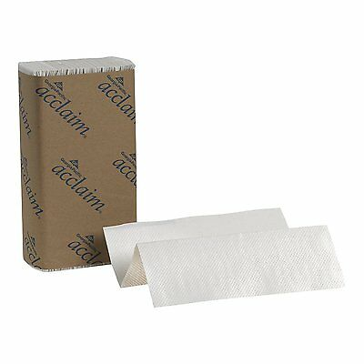"Georgia-Pacific Acclaim 20204 White Multifold Paper Towel, WxL 9.2"" x 9.4"" Case"