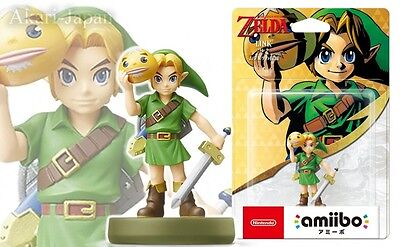 New Nintendo amiibo Link The Legend of Zelda Majora's Mask Switch Will U 3DS