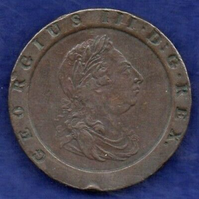 Great Britain, George III, 1797 Cartwheel Twopence (Ref. c2951)