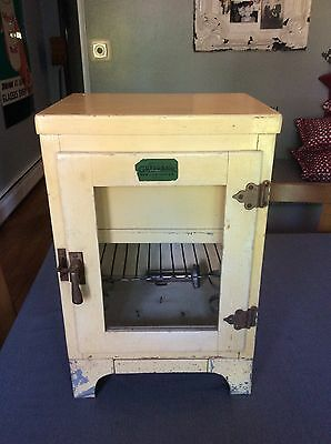 Antique/Vintage Gordonair Conditioning Salesman's Demonstrator Ice Box Ice Chest