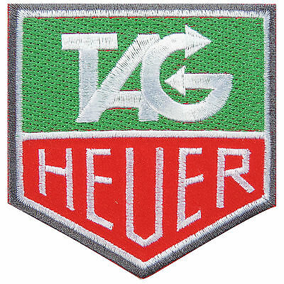 TAG HEUER Motor Sports Racing Watches Formula 1 Badge Iron on Patches #E025