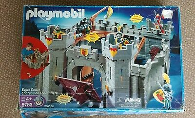 Playmobile Castle, figures and accessories.